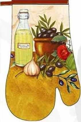 Kuchyňská chňapka RM 073/ 28 cm bavlněná