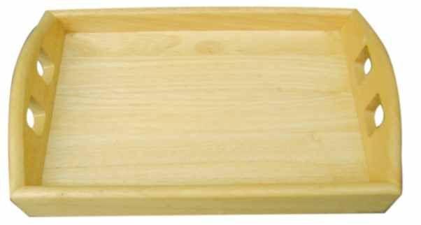 Podnos 285x185x52 mm dřevěný