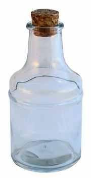 Láhev 200 ml + kork.špunt