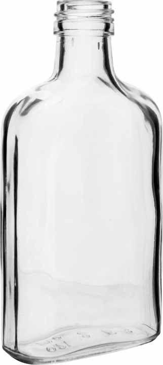 Placatka  skleněná 100 ml čírá