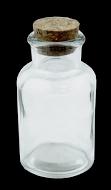Láhev + kork. špunt / 250 ml