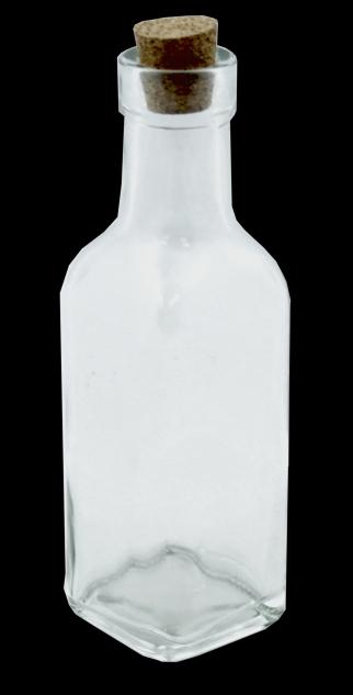 Láhev + kork. špunt / 175 ml