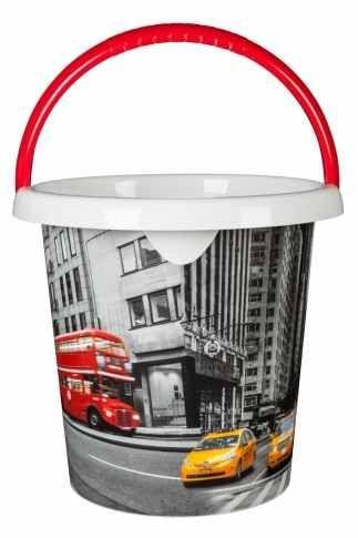 Kbelík 10 l s výlevkou LONDON