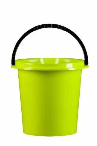 Kbelík 5 l s výlevkou / zelená