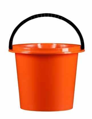 Kbelík 5 l  s výlevkou / orange