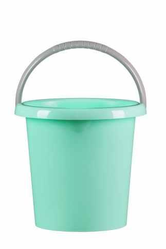 Kbelík 5 l  s výlevkou / zelená pastel