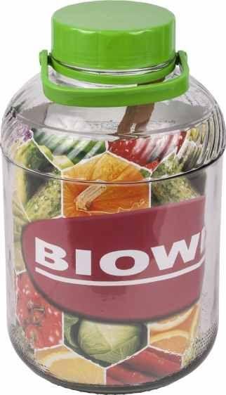 Nakládací nádoba na zelí a okurky 10l sklo + kleště