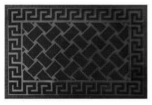 Čisticí vstupní rohož guma ATABAL 40x60cm černá