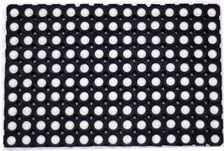 Čisticí vstupní rohož guma GUSLA 40x60cm černá
