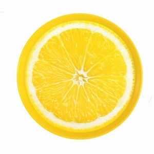 DURAplast Tác prům. 35cm IML#citron