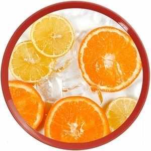 Tác plastový průměr 35cm IML#pomeranč