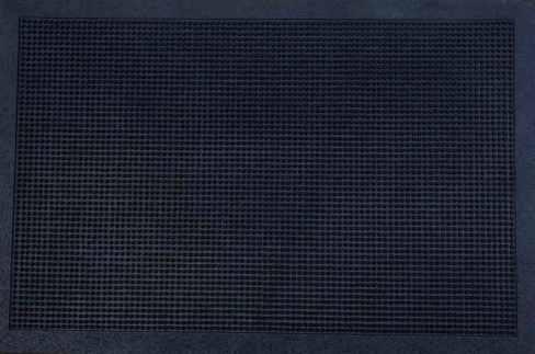 Čisticí vstupní rohož guma CLAVE 60x100cm černá