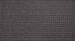 Čisticí vstupní rohož guma SITAR 40x70cm černá