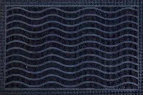 Čisticí vstupní rohož guma SIRINX 40x60cm černá