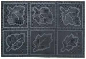 Čisticí vstupní rohož gumová BONGO 40x60cm černá