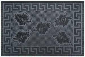 Čisticí vstupní rohož guma PIFFERO 40x60cm černá