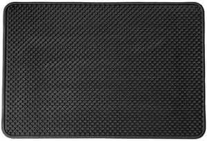 Čisticí vstupní rohož gumová ARGIL 40x60 cm černá