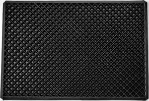 Čisticí vstupní rohož guma BORAS 35x60 cm černá