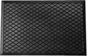 Čisticí vstupní rohož guma CAUK 35x60 cm černá