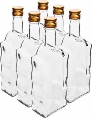 Skleněná láhev MONASTER s uzávěrem 500ml