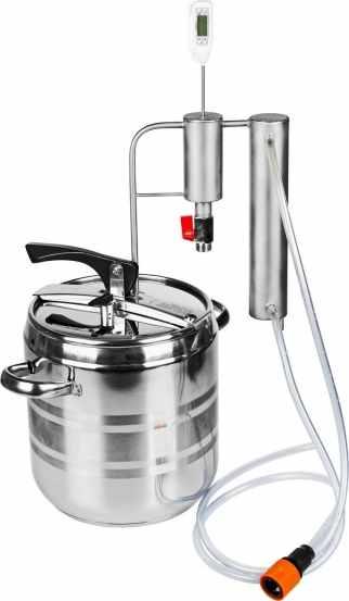 Destilační přístroj a tlakový hrnec 2 v 1, 12l