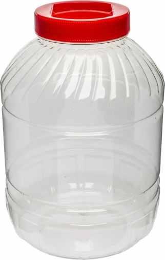 Plastový barel UH 10l čírý