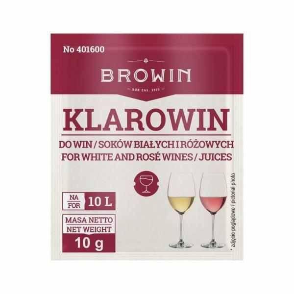 Clarowin 10g - pro vyjasnění růžových a bílých vín