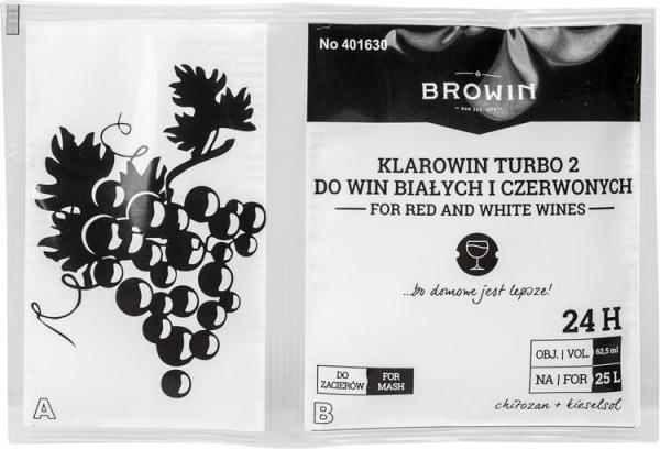 Clarowin Turbo 2 - chitosan + kiselsol