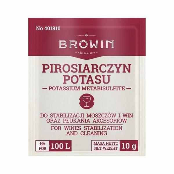 Pyrosulfit draselný 10 g