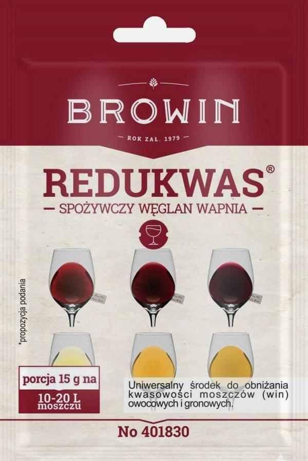 REDUWAS - potravinářský uhličitan vápenatý - 15 g