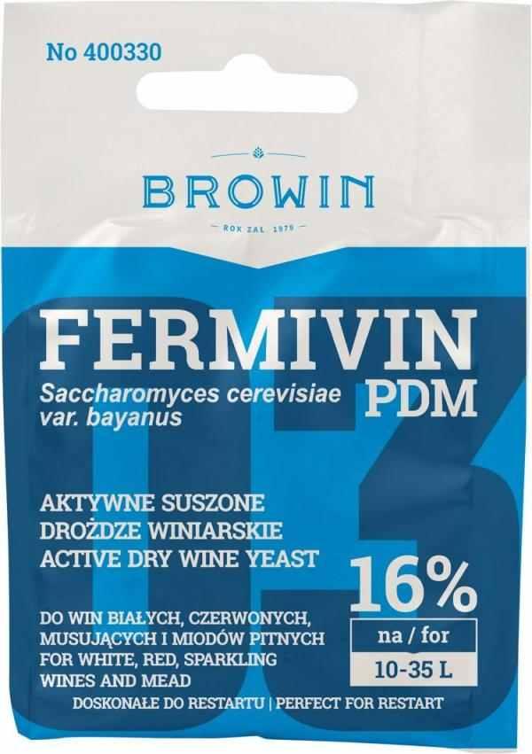 Sušené kvasinky FERMIVIN PDM 7g