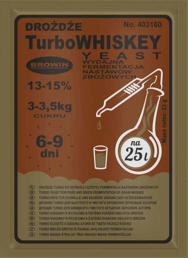 Kvasinky Turbo Whistey 23g 13-15%