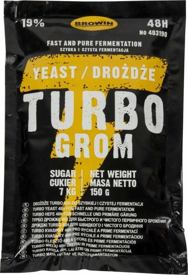 Kvasinky Turbo Grom 48h na 25 litrů