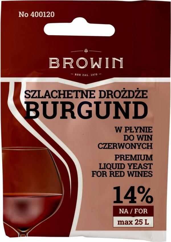 Vinné kvasinky tekuté BURGUND 20ml - 14 %