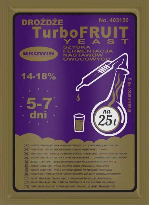 Kvasinky Turbo Fruit 40g/ 14-18%
