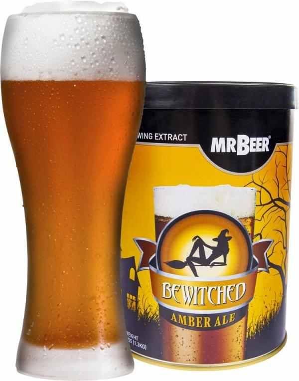 Pivní koncentrát Bewitched Amber Ale 1,3 kg