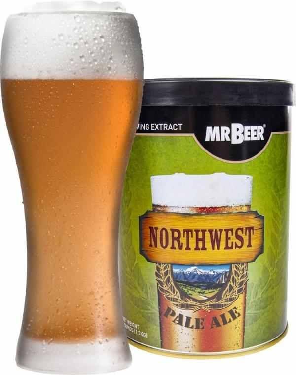 Pivní koncentrát Northwest Pale Ale