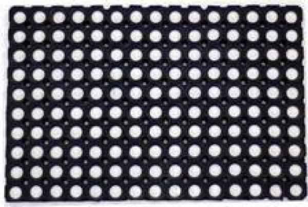 Rohož guma 50x100 cm Rote #černá