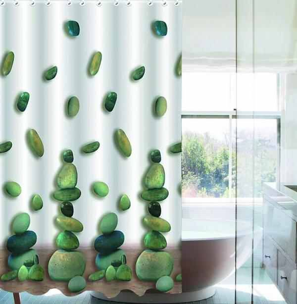 Sprchový závěs CY-132h 180 x 180 cm barevný