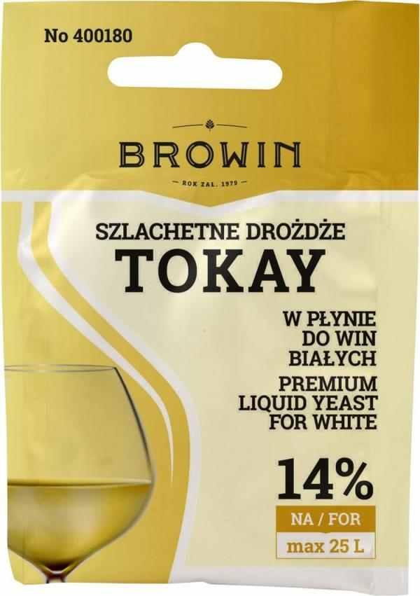 Vinné kvasinky tekuté TOKAY - 20 ml