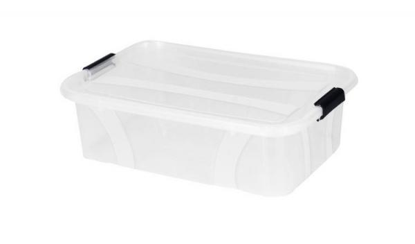 Plastový úložný průhledný Master box  7 l