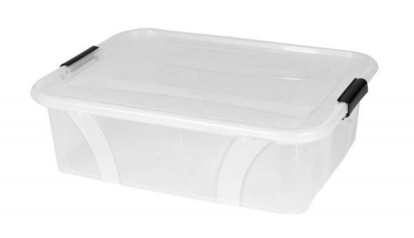 Plastový úložný průhledný Master box  21 l