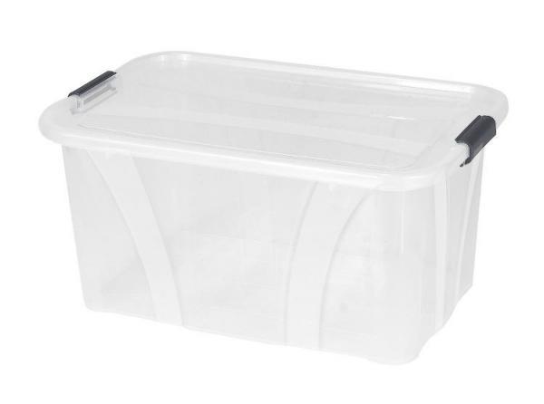 Plastový úložný průhledný Master box  32l