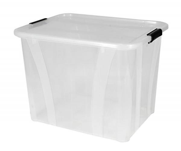 Plastový úložný průhledný Master box  55 l