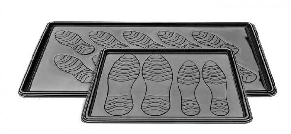 Foto Plastový odkapávač na boty  DOUBLE 36 x 63 cm