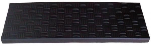Nášlapná rohož na schody gumová GOSSAN černá 25x75 cm