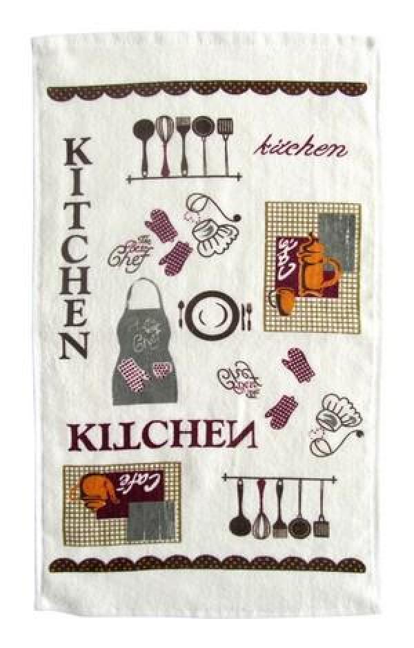 Kuchyňská utěrka 30x50 cm, kitchen