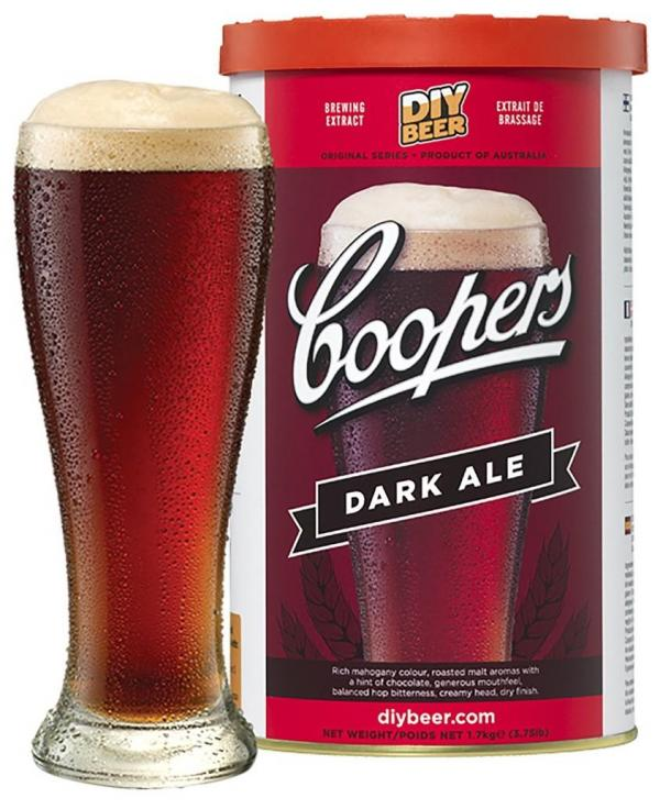 Pivní koncentrát COOPERS Dark Ale 1,7 kg