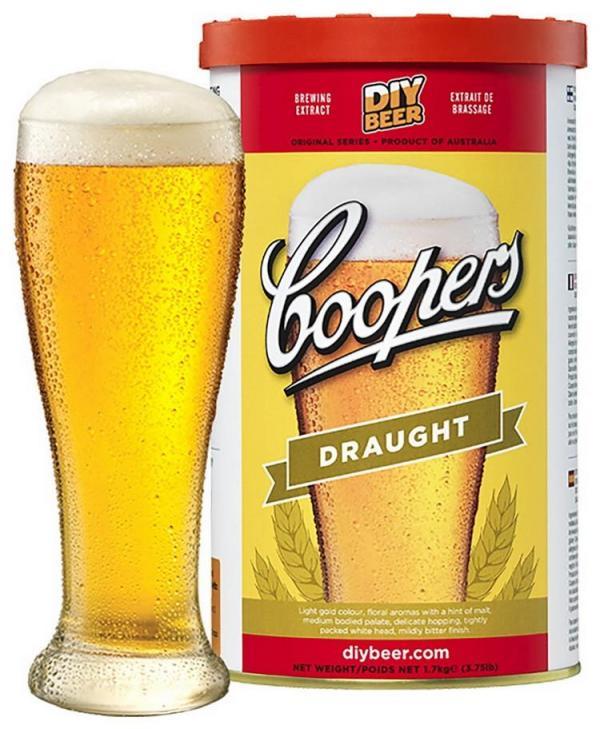 Pivní koncentrát COOPERS Draught 1,7 kg