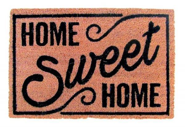Rohož PVC & kokos 40x60, Home Sweet